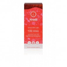 "Khadi augu izcelsmes matu krāsa ""Pure Henna Red"", 100g"