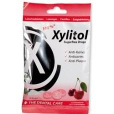 Miradent Xylitol ķiršu sūkajamas konfektes ar ksilitolu, 26gb