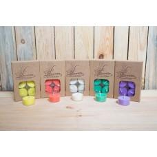 Laureta Candles tējassveces ar kanēļa / krustnagliņu ēterisko eļļu, oranžas, 6gb