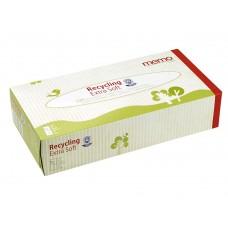 Memo īpaši mīkstas kosmētiskās / higiēniskās papīra salvetes, 100gb.