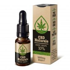 CBD Naturale kaņepju eļļa 10% / 1000 mg, 10ml