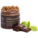 """Līga Nature SPA cukura skrubis ķermenim """"Šokolāde un piparmētra"""", 250g"""