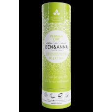 """Ben&Anna sausais sodas dezodorants / zīmulis kartona iepakojumā """"Persijas laims"""", 60g"""