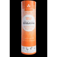 """Ben&Anna sausais sodas dezodorants / zīmulis kartona iepakojumā """"Vaniļas orhideja"""", 60g"""