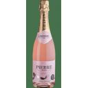 Pierre Zēro bezalkoholiskais dzirkstošais vīns Rose 0%, 750ml