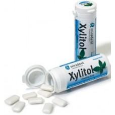 Miradent Xylitol piparmētras košļājamā gumija ar ksilitolu, 30gb
