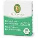 Primavera maināmās filca plāksnītes auto gaisa aromatizatoram, 10gb