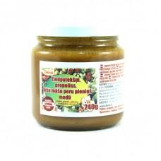 Deiva uztura bāgātinātājs ziedputekšņi, propoliss, bišu māšu peru pieniņš medū, 240g