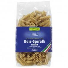 Rapunzel BIO bezglutēna pilngraudu rīsu pasta / makaroni Spirelli, 250g