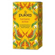 Pukka BIO tēja - aktīvā kurkuma Turmeric Active, 20pac.