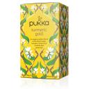 Pukka BIO tēja - kurkumas un zaļās tējas maisījums Turmeric Gold, 20pac.