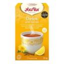 """Yogi Tea BIO tēja organisma attīrīšanai ar citronu """"Detox with Lemon"""", 17pac./30,6g"""
