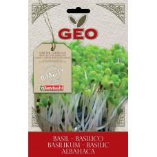 Bavicchi GEO BIO bazilika sēklas diedzēšanai (Ocinum Basillicum), 10g