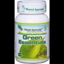 Planet Ayurveda uztura bagātinātājs Green Essentials (attīrīšanai), 60kaps.